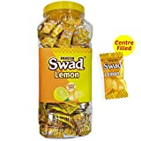 #4: Swad Centre Filled Masala Candy, Lemon, 300 Candies Chocolate Jar