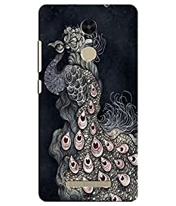 Citydreamz Peacock\Jungle Hard Polycarbonate Designer Back Case Cover For Xiaomi Redmi Note 3
