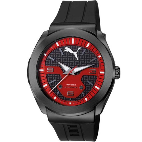 Puma XL Hombre Cuarzo Reloj modelo Roadster pu103931002impermeable 10ATM uvp115& # x20ac;