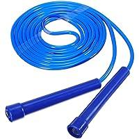 Calli - Cuerda de saltar larga para gimnasio, 5 colores, plástico