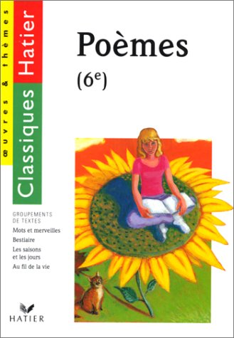 Recueil de poèmes 6e, la poésie