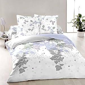 ivy spring leaves soulbedroom 100 baumwolle bettw sche bettbezug 135x200 cm kissenbezug. Black Bedroom Furniture Sets. Home Design Ideas