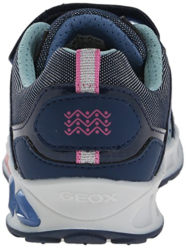 Geox Shuttle Mädchen Sneaker Blau (Navy)
