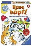 Ravensburger 247356 Hase huepf!: Das Bewegungsspiel mit dem Farbball