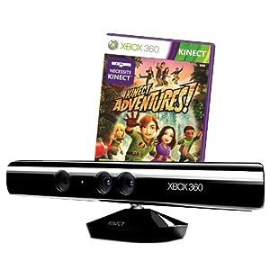 Xbox 360 – Kinect Sensor inkl. Kinect Adventures