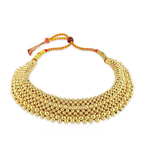 4 Off On Malabar Gold And Diamonds 22kt Yellow Gold Necklace For