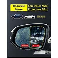 2175x Verlaufsfilter Auto Anti Nebel Nano Beschichtung Regendicht Rückspiegel Fenster Schutz Folie