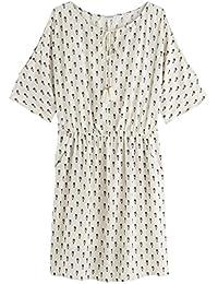 Promod Kleid mit geschlitzten Ärmeln