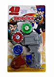 TEMPT MULTICOLOUR 3 BEYBLADE WITH HANDLE