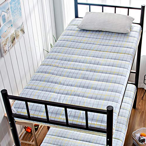 Atmungsaktive Matratzen Matratzenauflage,verdicken Sie Tatami Boden Futon Matratze Matte,premium Kühlung Bettdecke Weich Cotton Bettdeckel Für Schlafsaal-d 120x190cm(47x75inch) (Kühlung Matratze Königin)