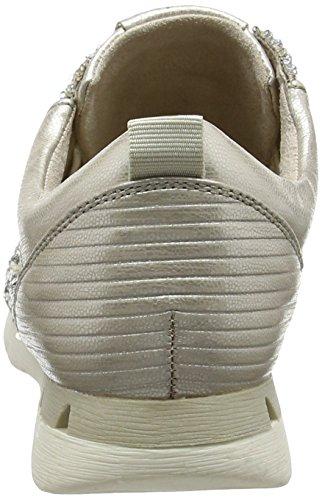 Marco Tozzi 23701, Baskets Basses Femme Argent (Silver Comb 948)