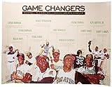 Baseball Poster schwarz Sport Geschichte Wand Kunstdruck African American (18x 24)