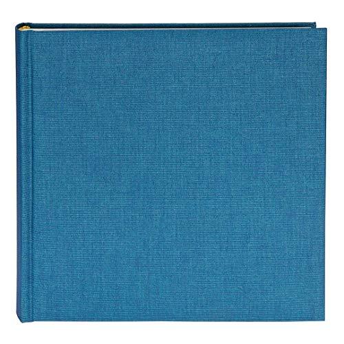 Goldbuch Fotoalbum, Summertime, 25 x 25 cm, 60 weiße Seiten mit Pergamin-Trennblättern, Leinen, Hellblau, 24711