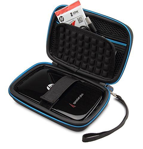 Supremery Tasche für HP Sprocket Plus Mobiler Fotodrucker Case Schutz-Hülle Etui Tragetasche (Drucker Tragetasche)