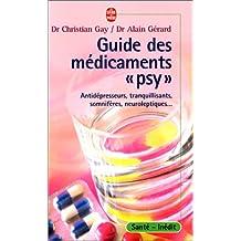 """Guide des médicaments """"psy"""""""