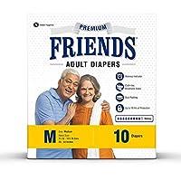 Friends Adult Diapers Premium Medium (10 Count)