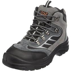 Sterling Safetywear Botas de cuero para hombre negro talla 43 EU