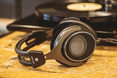 Shure SRH1840, offener Kopfhörer / Over-ear, schwarz/silber, High-End, geräuschunterdrückend, Kabel austauschbar, Velourpolster, natürlicher Klang, erweiterte Höhen, akkurater Bass, gematchte Wandler - 14