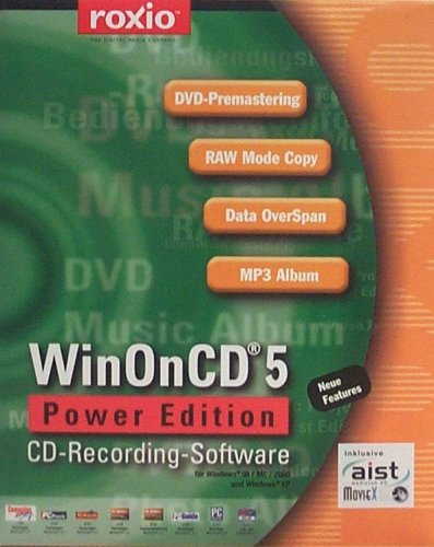 Roxio-dvd-brenner-software (WinOnCD 5 Power Edition)