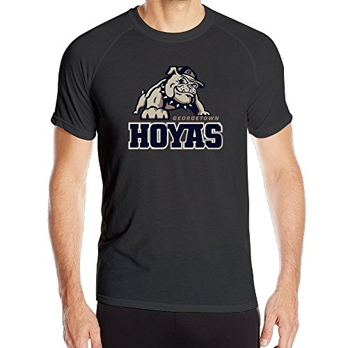 T&Tat Men's Georgetown Hoyas Jack Quick Dry Athletic Tshirt X-Large (De La Hoya-t-shirt)