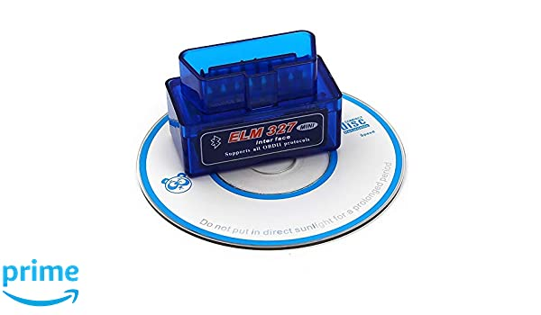 Bluetooth OBD2 Scanner Tool Car Scan Auto Adapter Check Engine Diagnostic Tool for Android Torque//PC Bosmutus OBD Super Mini BT ELM327 V2.1
