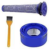 BluePower Ersatzfilter Zubehör Kit Kompatibel Dyson V8 V7 Pre-und Post-Motor Filter Tierischen und Absoluten Akku-Vakuum-Bundle Staubsauger, Ersetzen # DY-96566101, DY-96747801