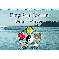 Feng Shui Farben - Element Wasser (Wandkalender 2019 DIN A4 quer): Die Farbe Blau steht im Feng Shui für das Element Wasser (Monatskalender, 14 Seiten ) (CALVENDO Natur)