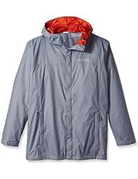 Columbia Men Big & Tall Watertight II Packable Rain Jacket,Grey Ash,Tall/Large