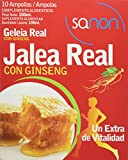 Sanon Jalea Real y Ginseng - 3 Paquetes de 10 Unidades