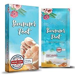SUMMER FOOT Premium Fußmaske zur