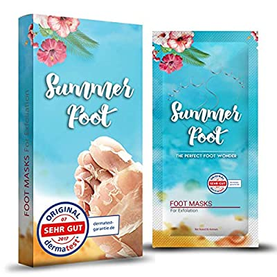 SUMMER FOOT Premium Fußmaske