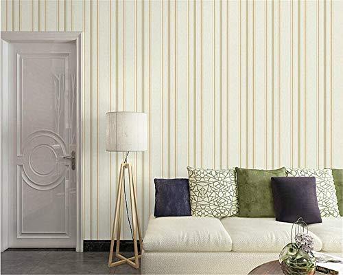 3d nicht gesponnenes mittelmeer-blaues gestreiftes Wandpapier vertikale Streifen Wohnzimmer Schlafzimmer grüne Tapete,tapete Muster,tapete Streifen, 2 -