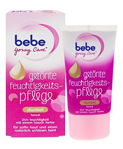 Bebe Young Care getönte Feuchtigkeitspflege Dunkel, 2er Pack (2 x 40 ml)