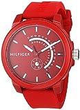 Tommy Hilfiger Reloj Analógico para Hombre de Cuarzo con Correa en Silicona 1791480