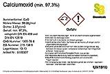 S3 Chemicals Calciumoxid (min. 97,3%, DIN EN 459 und DIN EN 12518) Gebindegröße 1kg