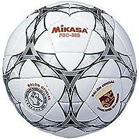 Mikasa FSC-58S - Balón de fútbol Sala, Color Blanco/Negro, 58 cm