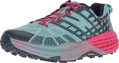 HOKA ONE ONE Speedgoat 2 Trail Running Shoe - Womens Canton/Dress Blues 6