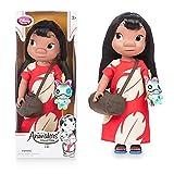 Officiel Disney Lilo & Stitch 40cm Lilo animateur poupée à peluche Scrump