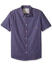 eeddd08df7 Quiksilver Hombres EQYWT03643 Manga Corta Camisa de Verter