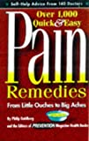 Best Little Remedies Pain Remedies - Pain Remedies: From Little Ouches to Big Aches Review