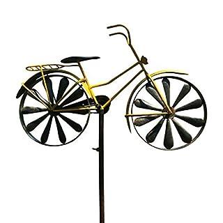 Whole House Worlds garden stick Bike 2ass H130cm iron Yellow