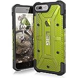 Urban Armor Gear Plasma Schutzhülle nach US-Militärstandard für Apple iPhone 7 Plus / 6S Plus / 6 Plus - transparent (gelb) [Verstärkte Ecken | Sturzfest | Antistatisch | Vergrößerte Tasten] - IPH7/6SPLS-L-CT