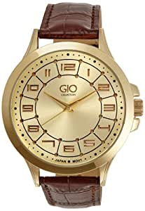 Gio Collection Analog Gold Dial Men's Watch - Gio EP - 0516.4 (P9348)