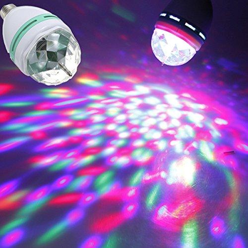 otierende RGB Spotlightt Lampe für Disco Bühne Halloween (Transformator Halloween)