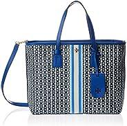 Tory Burch Womens Tote Bag, Bondi Blue - 53304
