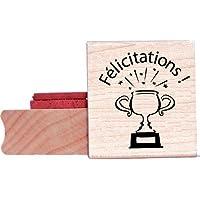 """Blade Rubber sellos de caucho para profesores 'Félicitations. """" br105C"""