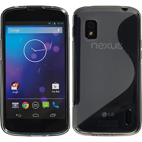 Coque en Silicone pour Google Nexus 4 - S-Style gris, occasion d'occasion  Livré partout en Belgique