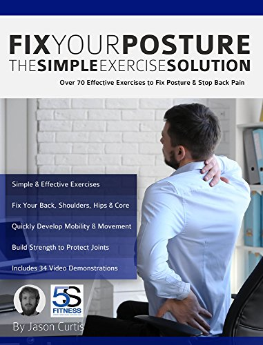 Fix Your Posture: Over 70 Effective Exercises to Fix Posture & Stop Back Pain (English Edition)