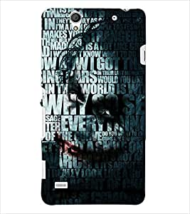 PRINTSWAG TYPOGRAPHY Designer Back Cover Case for SONY XPERIA C4 DUAL