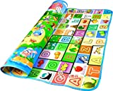 HB MALL INDIA Soft Waterproof Double-Sided Baby Activity Foam Floor Play Mat/Crawl Blanket/Ocean